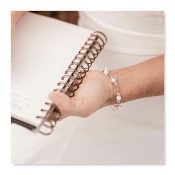 bracelet mariage multirangs