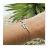 bracelet feuilles