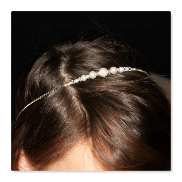 headband nacré